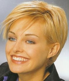 womens short hairstyles for thin hair pic