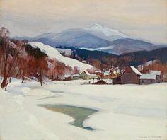 Emile Gruppe landscape-sold for $19K
