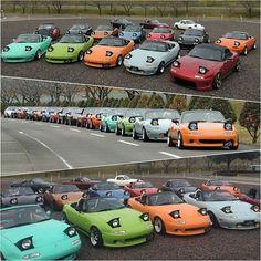 Meanwhile in Japan Via Mazdaroadster.net ▶ @mazdaroadster