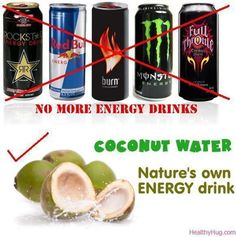 Coconut water? Okay :-))