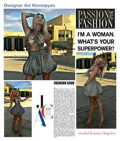 Fashion designer : Ani Hovsepyan   by Louiza Angeles