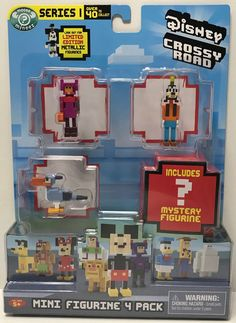 This just in at The Angry Spider Vintage Toy Store: TAS038782 - 2016 ...  Check it out here! http://theangryspider.com/products/tas038782-2016-moose-toys-disney-crossy-road-goofy-lemon-zazu?utm_campaign=social_autopilot&utm_source=pin&utm_medium=pin