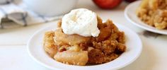 Apple cobbler is easier to make than ever with a little help from the slow cooker and Betty Crocker™ SuperMoist™ cake mix!
