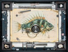 #steampunk fish. Primarily, I worry this is a pufferfish.
