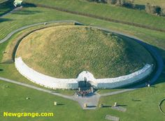 Newgrange, County Meath. Older than Stonehenge and dry as a bone inside due to the craftmanship of the builders.