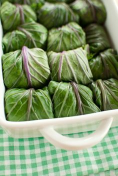 Scandi Home: Kale rolls with quinoa and chickpea stuffing
