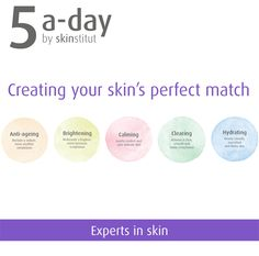 Skinstitut - Experts in skin Create Yourself, Finding Yourself, Radiant Skin, Perfect Match, Your Skin, Anti Aging, Hair Beauty, Delicate, Skin Care