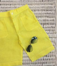 www.mamibu.com  #yellow #shortsbabyboy #shortslittleboy #bermudabambino #bermudaneonato #mamibu #babyclothes #kidsclothes #childrenwear #babyboy #littleboy