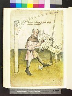 Drechsler, um 1425
