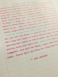 "Neat Handwriting by Sami W. ""Upside Down"" by Jack Johnson Neat Handwriting by Sami W. ""Upside Down"" by Jack Johnson Handwriting Examples, Perfect Handwriting, Improve Your Handwriting, Improve Handwriting, Handwriting Alphabet, Beautiful Handwriting, Handwriting Practice, Handwriting Styles, Calligraphy Handwriting"
