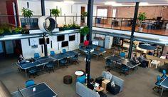 un lugar diseñado para la co creación.  Creative places to work  #Cool_management  retweet