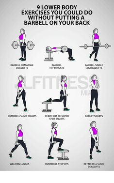 Leg And Glute Workout, Weighted Leg Workout, Leg Workout Routines, Crossfit Leg Workout, Gym Back Workout, Body Weight Leg Workout, Leg Routine, Body Weight Training, Workout Plans