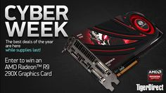 Hey! Want to win a top of the line Radeon R9 290X? No purchase necessary, just enter your name and email address to enter. Hooking up your system with this sweet upgrade from AMD has never been so easy. Good luck!