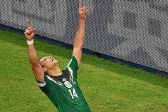 3er gol vs Croacia #chicharitohernandez #Brasil2014