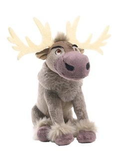 Disney Store  Frozen Movie  SVEN Plush  8 inch beanie *** Want additional info? Click on the image.