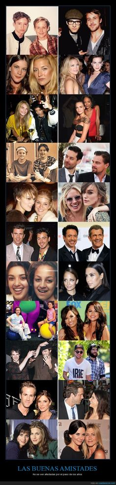 11 ejemplos de amistad duradera entre famosos por las que nadie hubiera dado un duro - No se ven afectadas por el paso de los años   Gracias a http://www.cuantarazon.com/   Si quieres leer la noticia completa visita: http://www.estoy-aburrido.com/11-ejemplos-de-amistad-duradera-entre-famosos-por-las-que-nadie-hubiera-dado-un-duro-no-se-ven-afectadas-por-el-paso-de-los-anos/