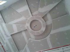 Plaster Ceiling Design, Gypsum Ceiling Design, Ceiling Design Living Room, Bedroom False Ceiling Design, False Ceiling Living Room, Gypsum Design, Tile Design, Plafond Staff, Pooja Room Design