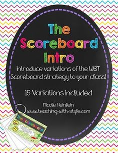 Whole Brain Teaching With Style: Book Club - Chapter 11 The Scoreboard