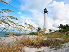 Beach has released his annual list of the top beaches in America—see which seashores ended up in the top ten, and which state has more amazing beaches than any other. Florida Usa, Florida Keys, Beach Tops, Beach Fun, Key Biscayne Florida, Travel Usa, Great Places, State Parks, This Is Us