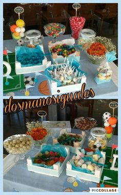 Resultado de imagen de Cajas decoradas mesa de chuches