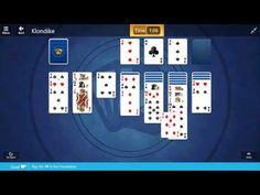 Klondike / Medium I: Play the 9♥ to the Foundation
