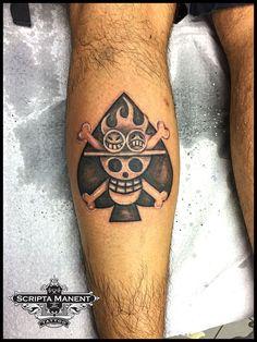 One Piece logo tattoo