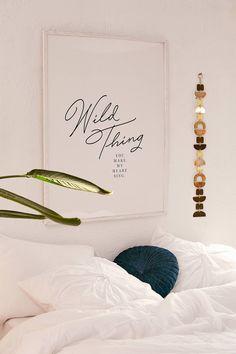 Honeymoon Hotel Wild Thing Art Print | Urban Outfitters