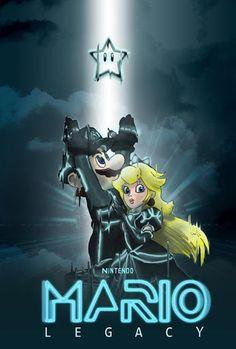 Mario Tron!
