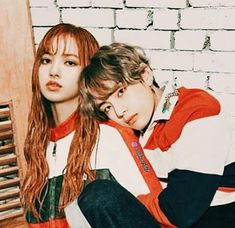 Bts Jungkook And V, Blackpink And Bts, Bts Girl, Bts Boys, Kpop Couples, Taehyung, Black Pink Kpop, Fake Love, Blackpink Lisa
