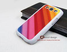 Samsung phone case Galaxy S3 Case Colorized texture cases Samsung Galaxy S3 i9300 Case Samsung cases Galaxy SIII unique Case. $14.99, via Etsy.