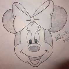 to drawing mickey mouse Minnie Mouse drawing Minnie Mouse Drawing, Mickey Mouse Drawings, Disney Drawings Sketches, Disney Character Drawings, Cute Disney Drawings, Cute Easy Drawings, Cool Art Drawings, Pencil Art Drawings, Animal Drawings