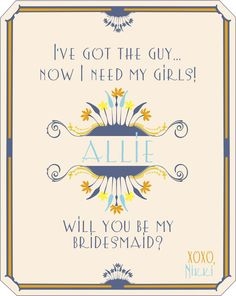 Personalized Wedding Wine Labels Wedding Party Art Deco Bridesmaid Gift Ideas Will You Be My Bridesmaid for Wedding and Engagements