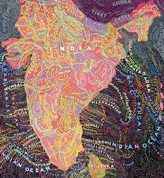 Inde, by Paula Scher