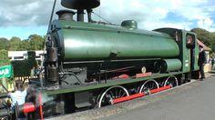 Isle of Wight Steam Railway. Part 2/3. Hunslet Austerity Industrial Stea...