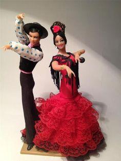 Spanish Flamenco Dancers veel mensen hadden deze op de televisie staan.