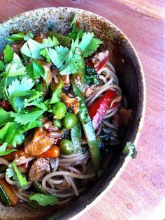 Rytmikeittiö: Ainut wok-resepti minkä tarvitset