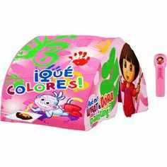 Dora the Explorer Bed Tent by Idea Nuova. $25.00. Wipe clean with d& cloth  sc 1 st  Pinterest & Disney Fairies Tinker Bell Dream Set ( Bed Tent Pillow Etc..) by ...