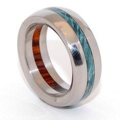 Minter + Richter | Unique Wedding Rings - Forest | Titanium Rings | Minter + Richter