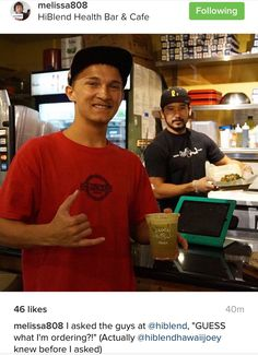 Happy Healthy Aloha Friday  HiBlend Health Bar & Cafe  Satisfying Your Healthy Appetite