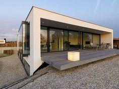 Una casa para vivir y trabajar, del estudio Grosfeld van der Velde   Interiores Minimalistas