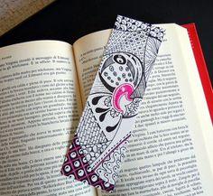 Zentangle Art Bookmark