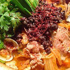 大人用晩ごはん - 169件のもぐもぐ - 黒豆納豆で鱈とアサリのチョングッチャン by kim555