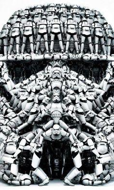 Stormtrooper de stormtroopers (El CGI es el Lado Oscuro de la Fotografía por Mateo Salvador)