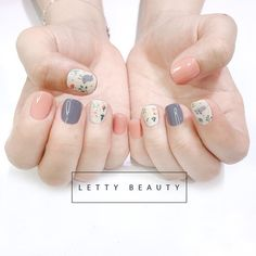 What Christmas manicure to choose for a festive mood - My Nails Diy Nails, Swag Nails, Cute Nails, Pretty Nails, Beautiful Nail Art, Gorgeous Nails, Nail Designs Spring, Nail Art Designs, Korean Nail Art