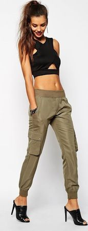 Cargo Pant With Pocket Detail, Daisy Street  $32 asos.com