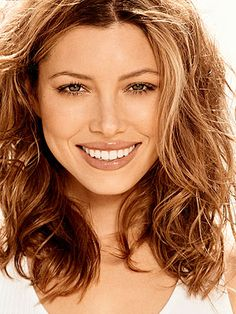 Jessica Biel. so natural. so pretty.