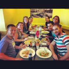 @yaminbensi | #birthright #food #fun #israel #iphoneograhpy
