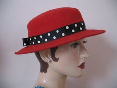 TeamvintageUSA Fashionista in Red by Chris D on Etsy