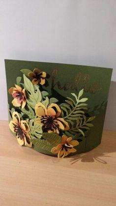 Bendy card with Botanical Garden
