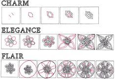 >tangle patterns:Charm, Elegance & Flair « lifeimitatesdoodles